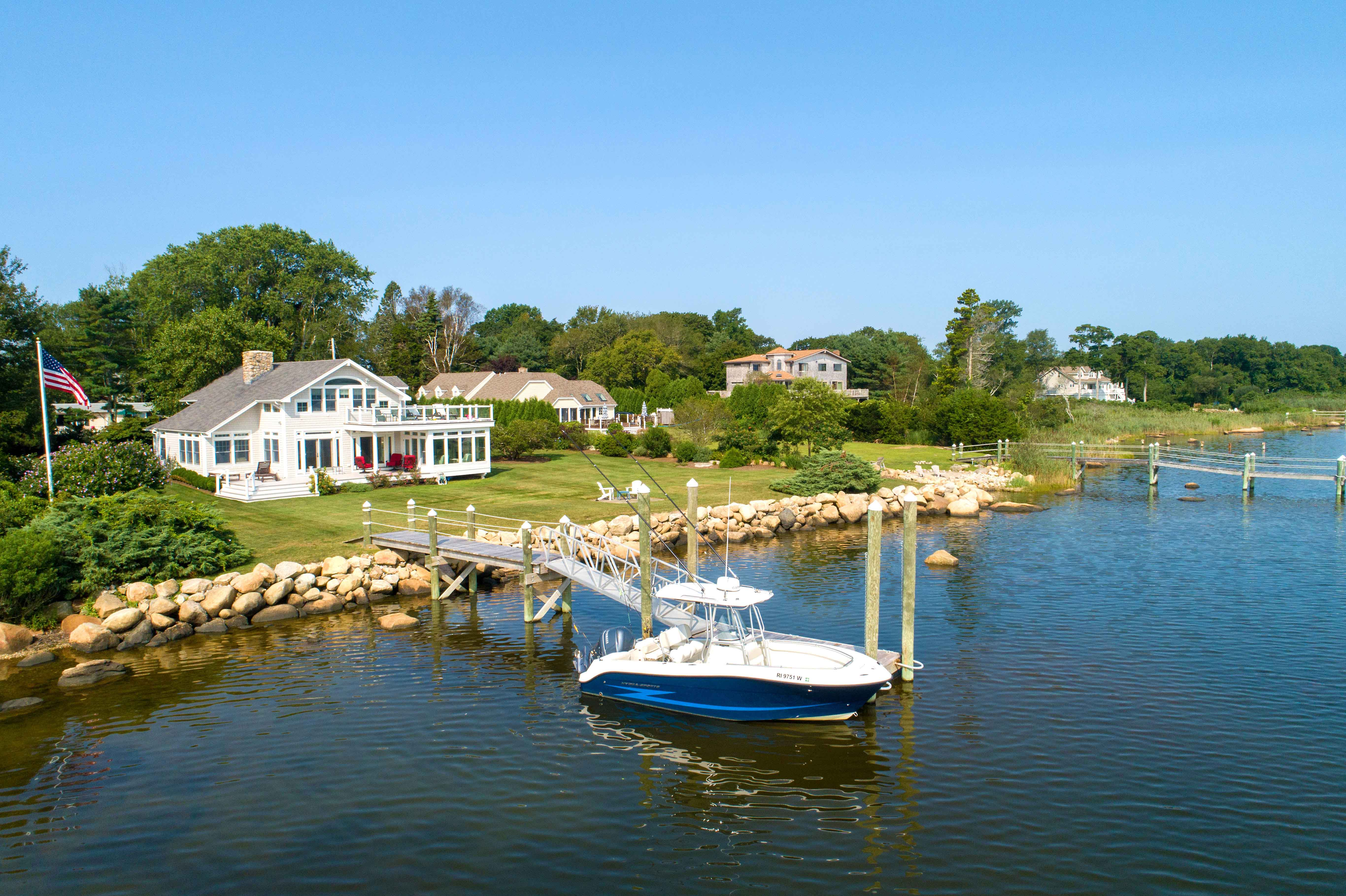 NINIGRET POND WATERFRONT HOME SELLS FOR $2.125M, WITH LILA DELMAN REPRESENTING BOTH SIDES OF THE TRANSACTION