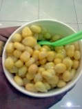 Corn snack at AmCorp Mall.