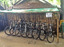 This resort even has bikes for rent.