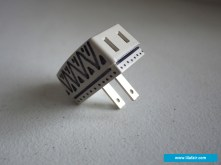 ADAPTER: Share limited power outlet with this adapter. Your buddies will thank you for it!