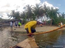 Boat to Kwebang Lampas