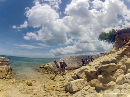 The trek before Kwebang Lampas
