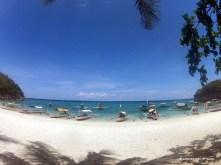 Finally, the beach!
