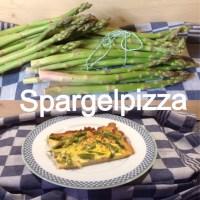 Young Spring vegetables # 2 - oder - Spargelpizza, der Quickie unter den Spargelgerichten ;-)