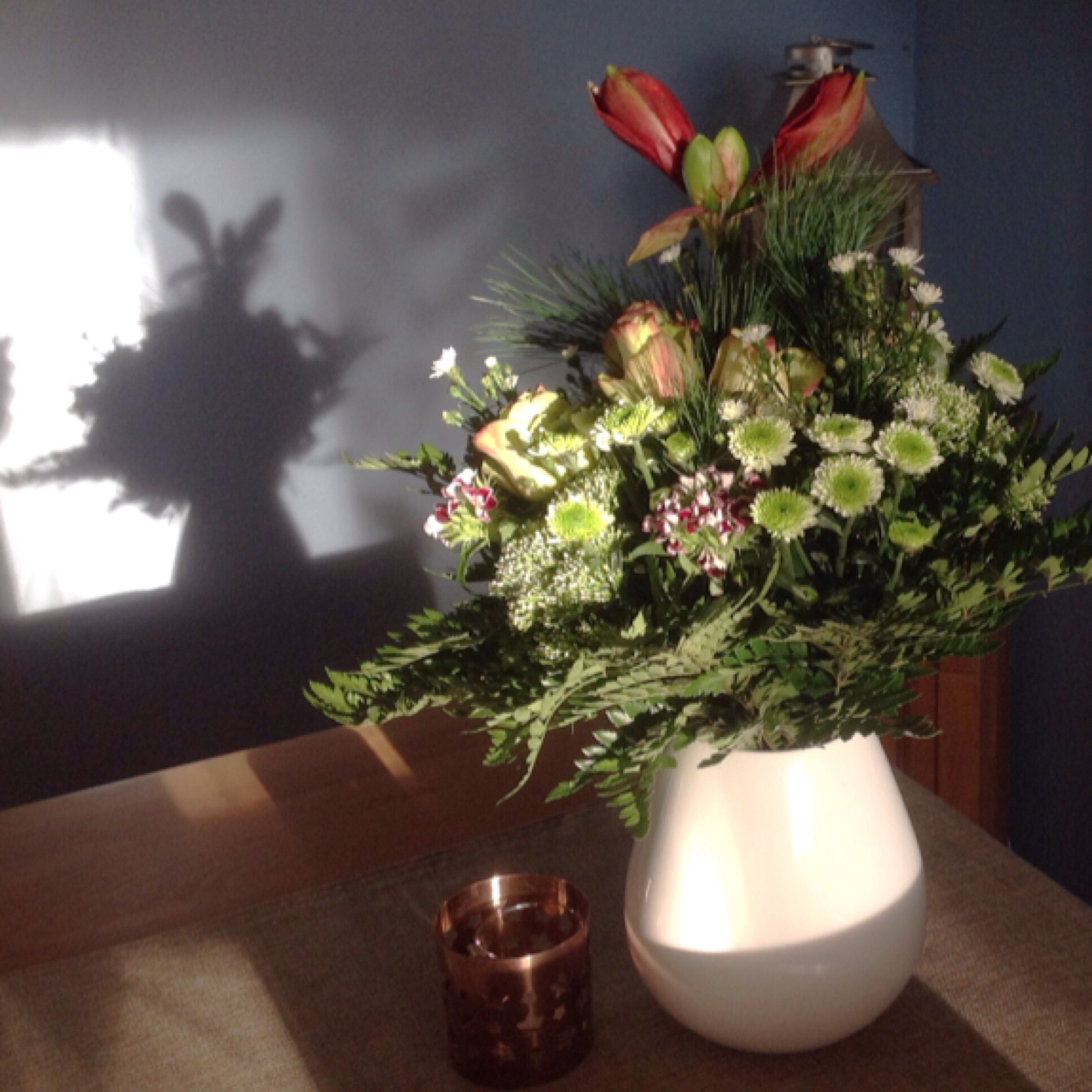 Friday-Flowerday – oder – Ein Dankeschön zum Hinstellen