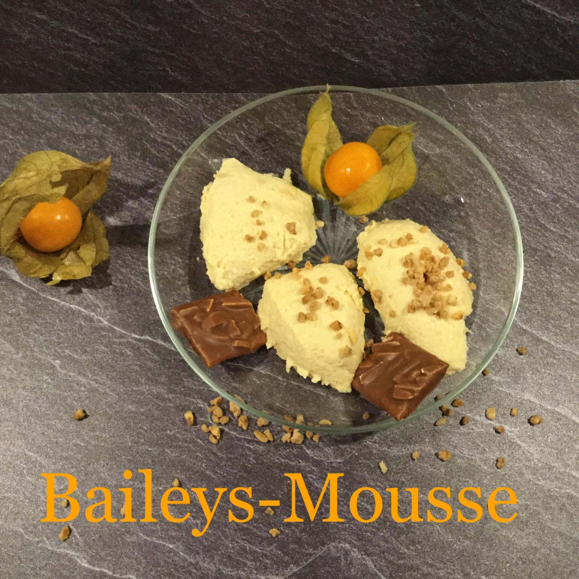 Zum #Sonntagsglück gibt's Baileys-Mousse – oder – Keine Angst vor Gelantine