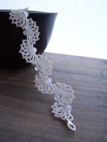 Bracelet mariee contemporaine