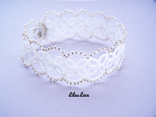 tatting lace bracelet
