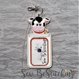 ITH – Cow Vertical ID Holder 5×7 only