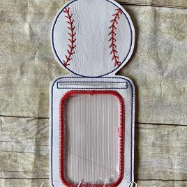 ITH – Baseball ID Holder 5×7 only