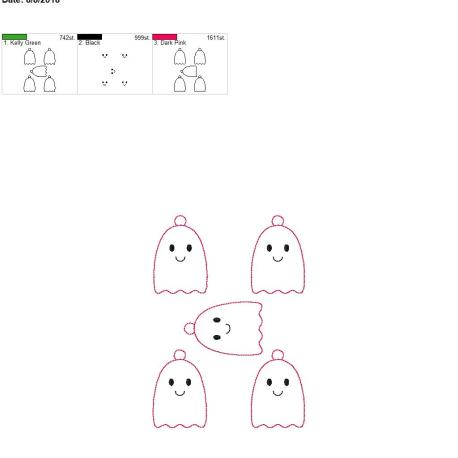 cute ghost eyelet 5×7 grouped