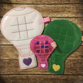 ITH – Hot Air Balloon Tic Tac Toe Boards