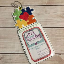 ITH – Autism Awareness ID Holder 5×7