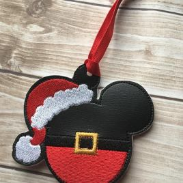 ITH -Santa Boy Mouse Ornament 4×4 and 5×7 Grouped