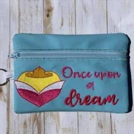 ITH – Sleeping Princess Zipper Bag 5×7 only