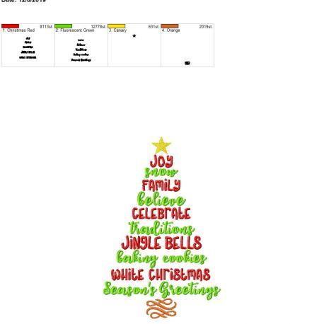 Christmas sayings 6×10