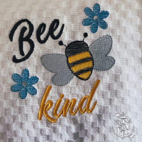 Bee Kind Honeybee Towel 5×7 LL_0053
