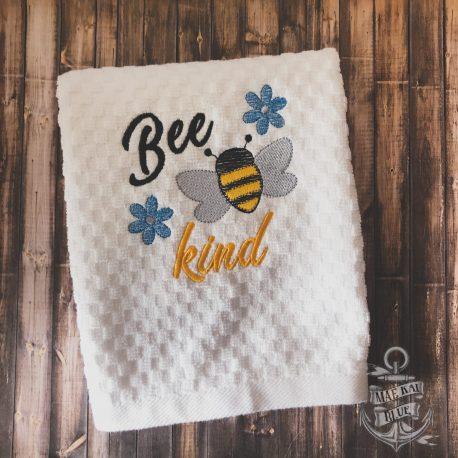 Bee Kind Honeybee Towel 5×7 LL_0055