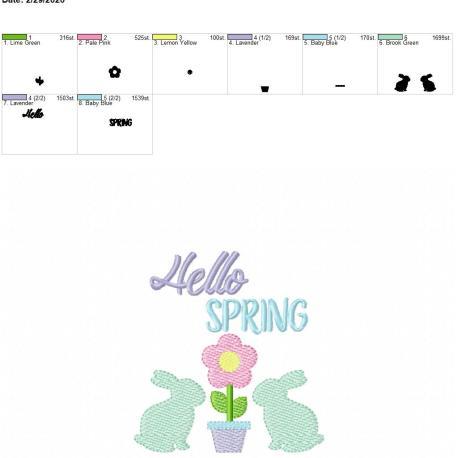 Hello Spring 4×4