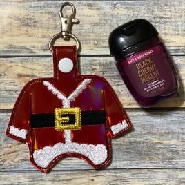 Santa Suit Sanitizer Holders – Embroidery File, DIGITAL Embroidery DESIGN