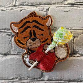 Tiger Heart Sucker Holder – DIGITAL Embroidery DESIGN