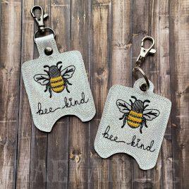 Bee Kind Sanitizer Holders – DIGITAL Embroidery DESIGN