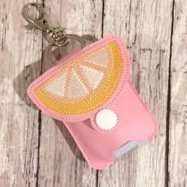 Lemon Sketch Fold Over Sanitizer Holder 5×7- DIGITAL Embroidery DESIGN