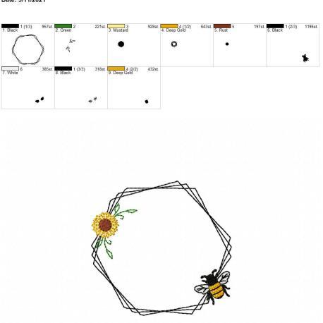 Bee Frame 2 4×4
