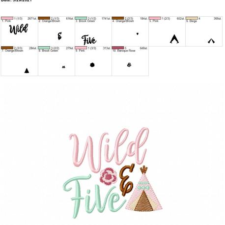 Boho Wild and Five 4×4