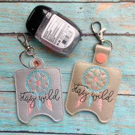 Stay Wild Sanitizer Holders – DIGITAL Embroidery DESIGN