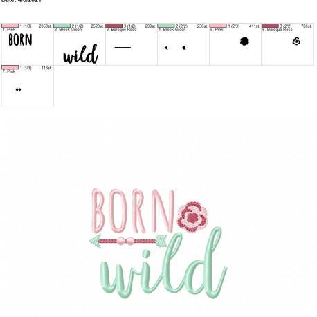Boho Born wild 4×4