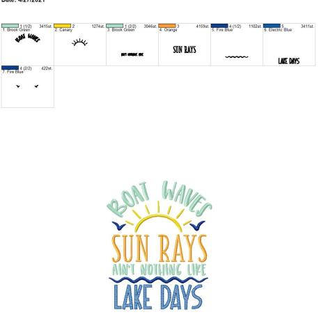 Nothing like lake days 6×10