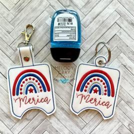 Merica Sanitizer Holders 5×7- DIGITAL Embroidery DESIGN