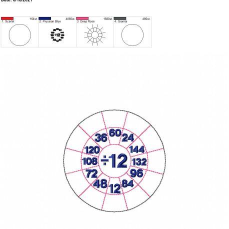 Division Wheel 12