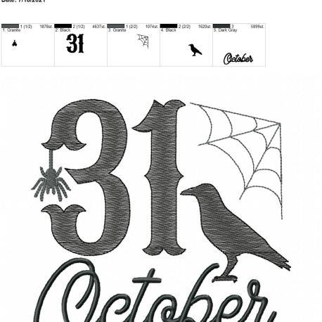 31 October 8×12