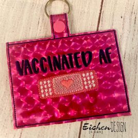 Vaccinated AF Vaccination Card Holders 5×7