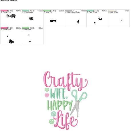Crafty wife happy life 6×10