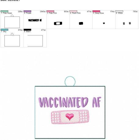 Vaccinated AF Eyelet 5×7