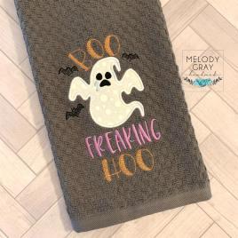Boo Freaking Hoo – 2 sizes- Digital Embroidery Design