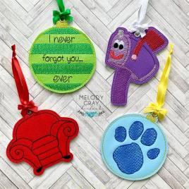 Clue Ornament Bundle – Digital Embroidery Design