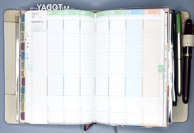 multiple planners, functional planning, planner setup, inkwell press, jibun techo