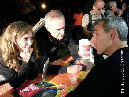 Isabelle Jeanbrau Fred Nony Cédric Chapuis - Festival L'île au théâtre