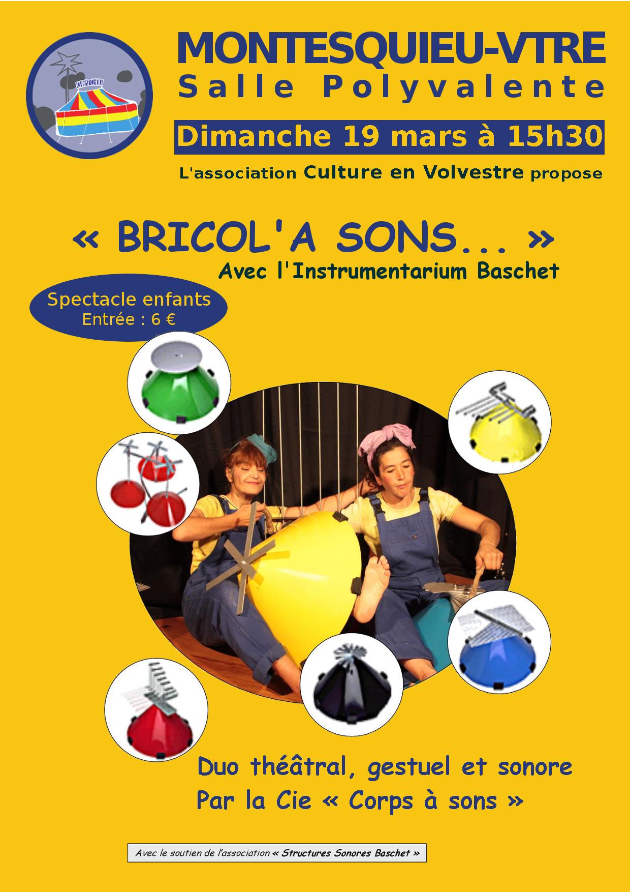 Affiche Bricol a sons