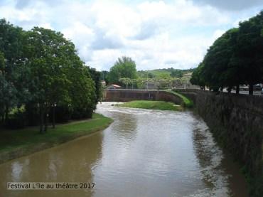 La rivière Arize - Montesquieu-Volvestre