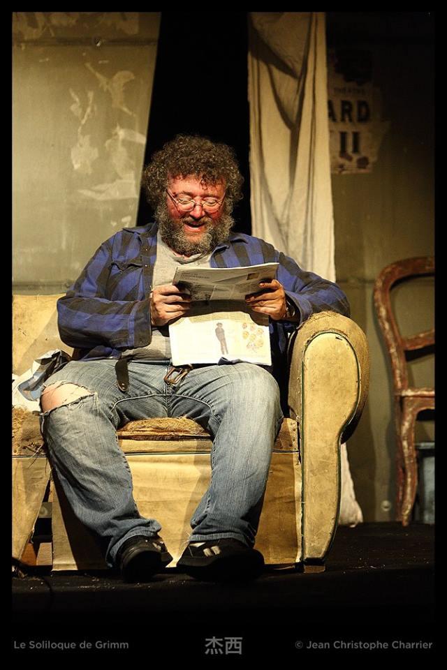 Fred Saurel dans Le soliloque de Grimm