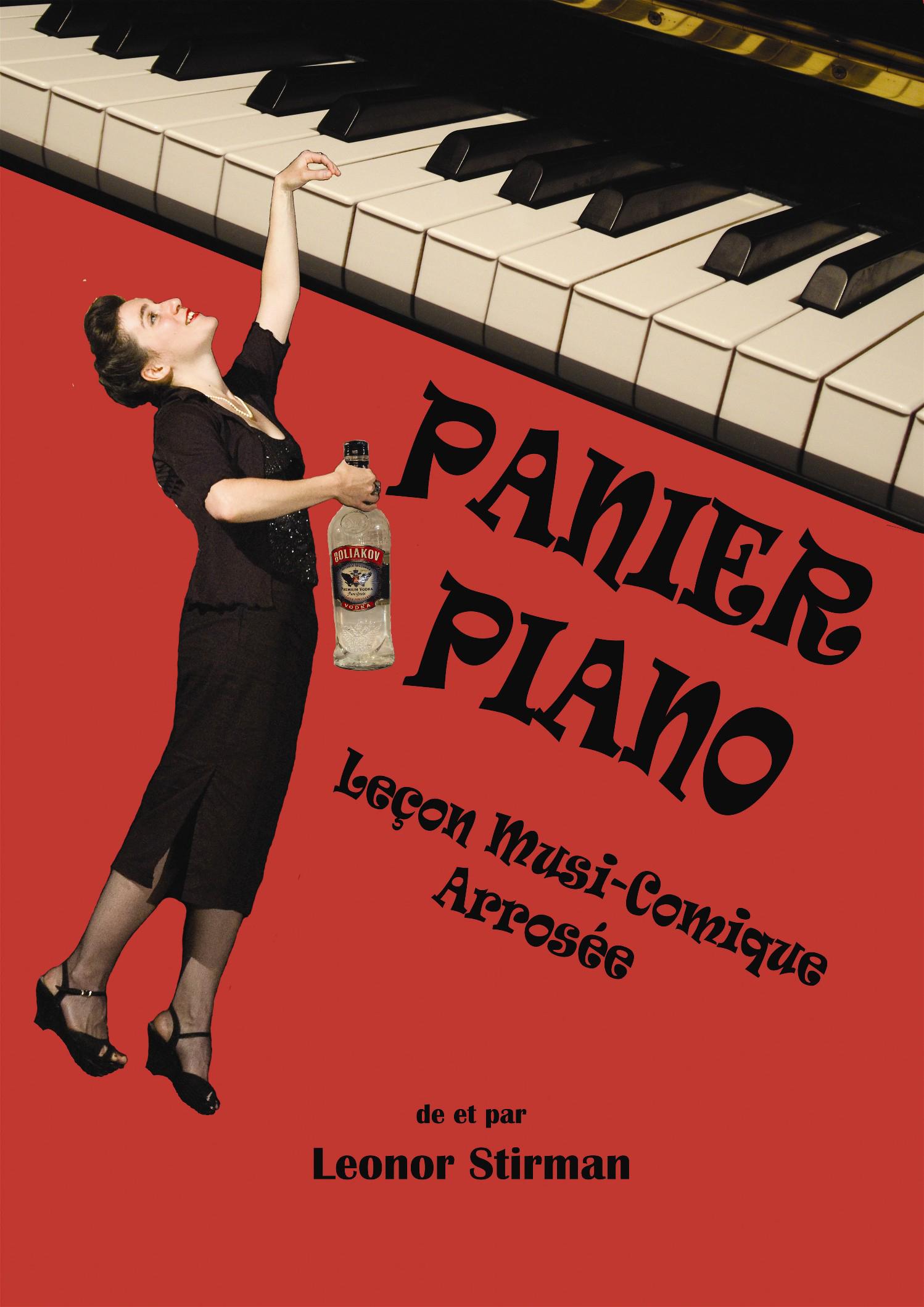 Panier piano - affiche