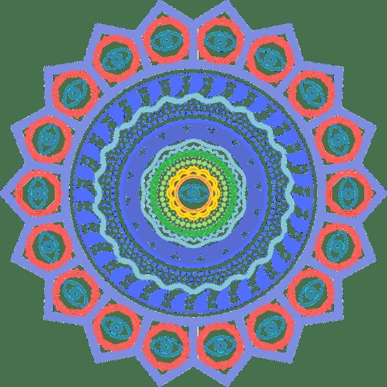 Creative Eye Mandala