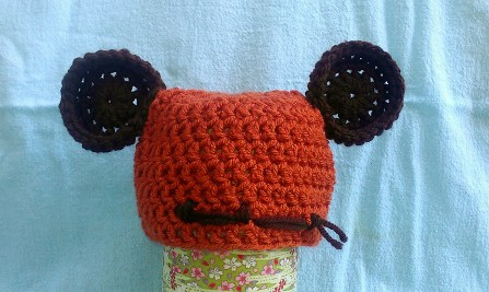 Ewok-Inspired Hat