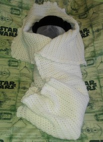 Princess Leia-Inspired Blanket