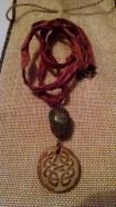 Celtic symbols and rose-y pink!